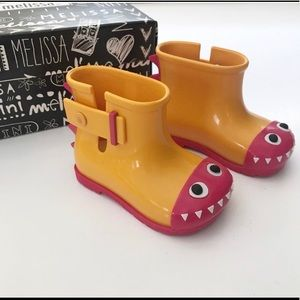 NWT! Mini Melissa rain boots